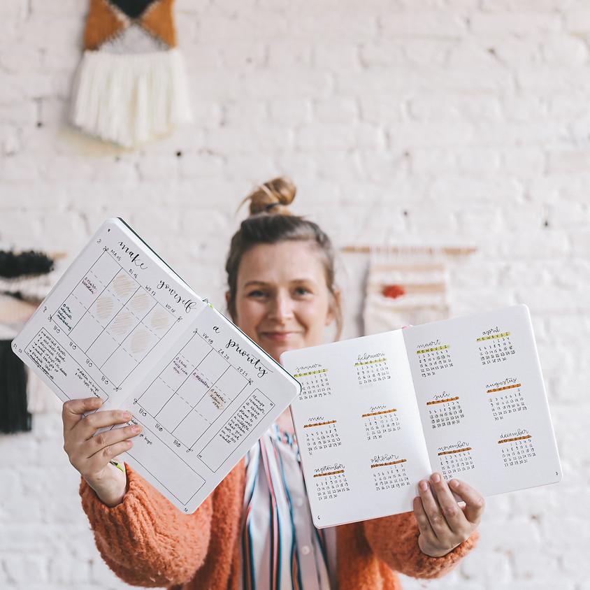 Je bullet journal als creatieve uitlaatklep - Tips & tricks om te handletteren in je journal
