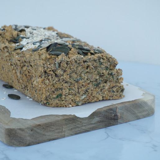 Bestes Eiweiß-Brot (laktosefrei, glutenfrei, viel Protein)
