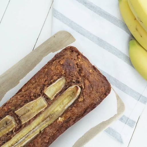 Bananenbrot (vegan, ohne raffinierten Zucker)