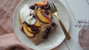 Cheesecake Frühstück
