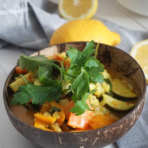 Zitronen-Fenchel Curry