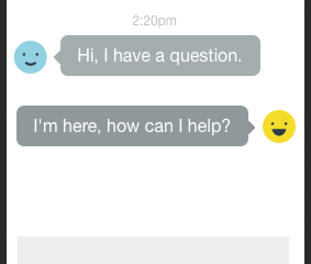Your visitors want to chat with you!
