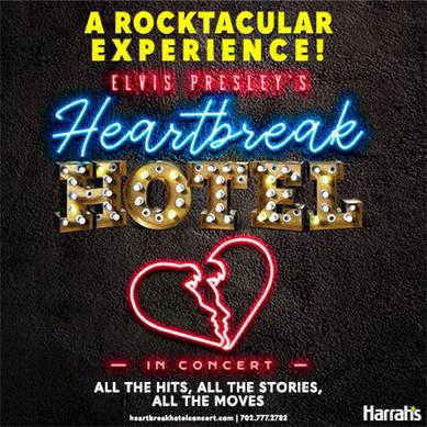 Heartbreak Hotel in concert