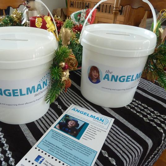 Christmas Wrap Buckets
