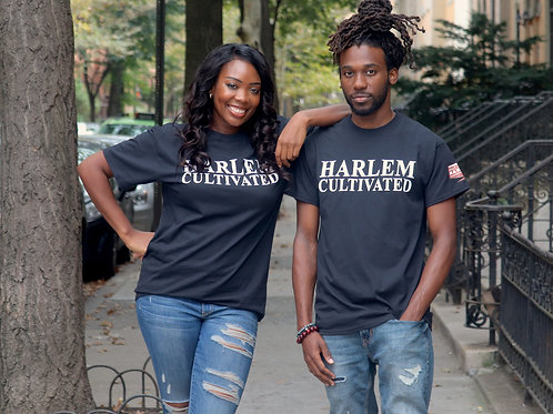 Harlem Cultivated-Short Sleeve Unisex T-Shirt