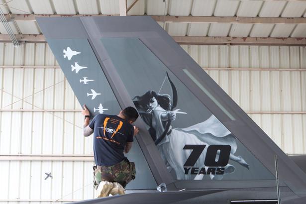 Diana on an Dutch F-35