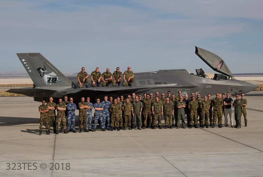 70th Anniversary of the Royal Netherlands Air Force's 323 TES