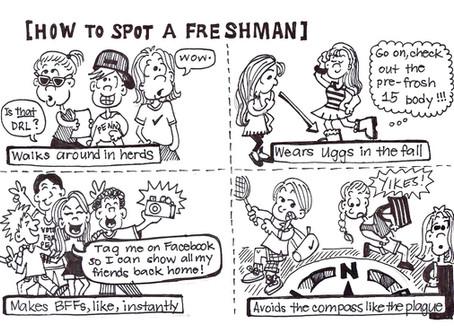 How to Spot a Freshman