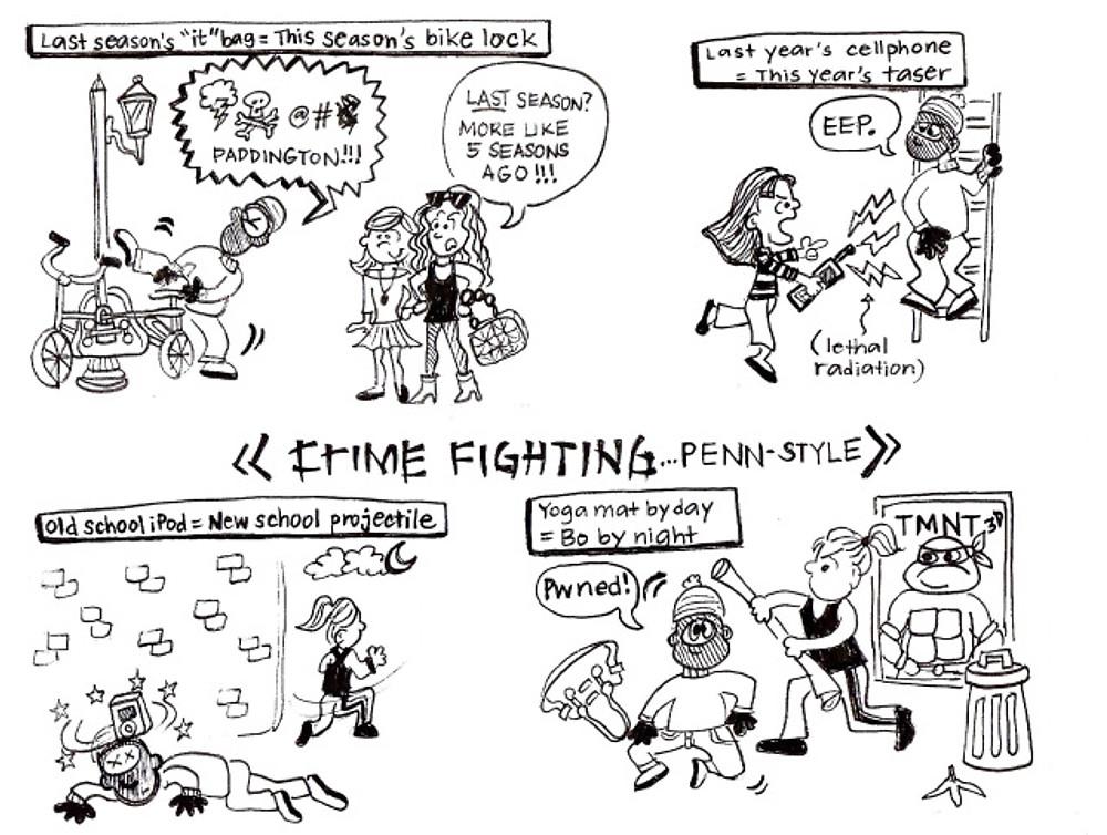 Crime Fighting, Penn-Style