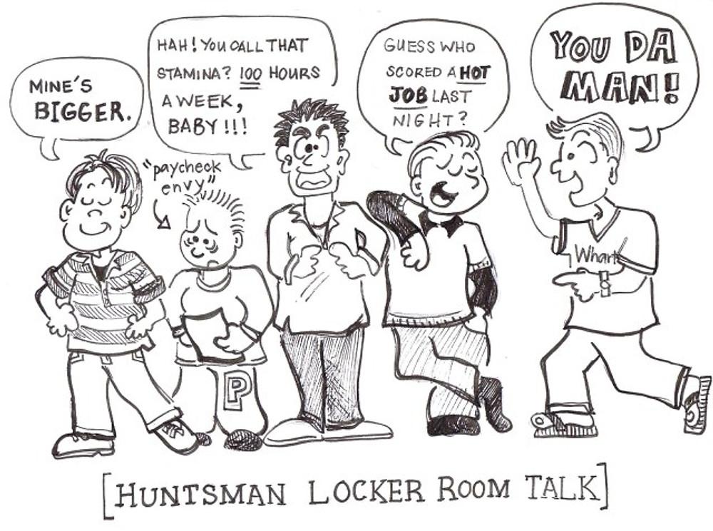 Huntsman Locker Room Talk