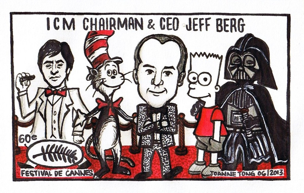 Jeff Berg at Cannes