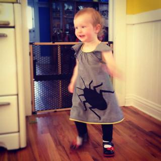 Roach dress