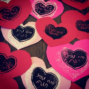 Ramona's Printed Valentines