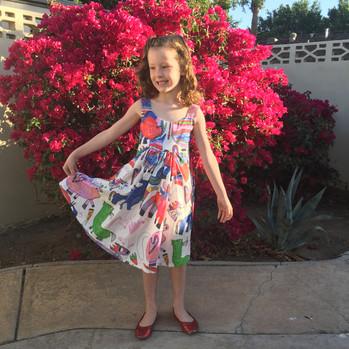 Ramona's pony dress