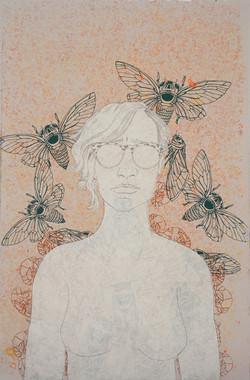 Self Portrait Iconography (Cicadas)