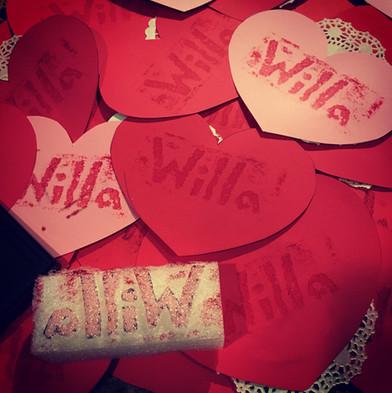 Willa's Valentine Prints