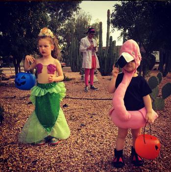 Mermaid, Doc McStuffins, Flamingo