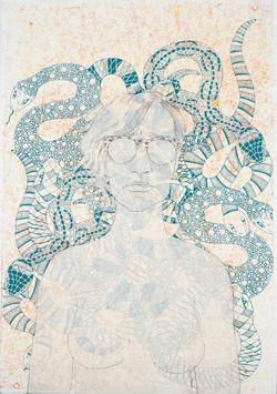 Self Portrait Iconography (Snakes)