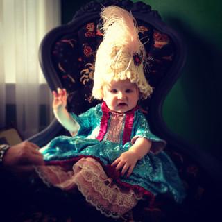 Baby Marie Atoinette Costume