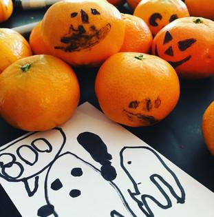 Montessori Halloween Treats
