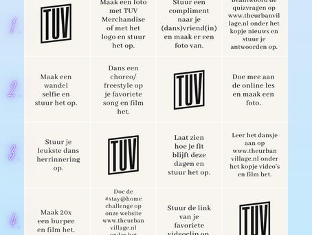 The Urban Village bingokaart + bijlagen