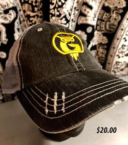 Gray Baseball Cap $20