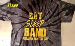 Eat Sleep Band $15