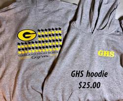 GHS Hoodie $25