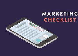 Download our Marketing Checklist!