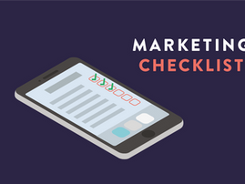 Download our Marketing Checklist!
