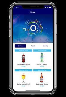 The O2 Arena App