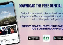 Barclaycard presents BST Hyde Park App Available Now!