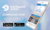 Barclaycard Arena Hamburg App Available Now!