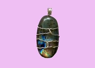 Labradorite Silver-Wrapped