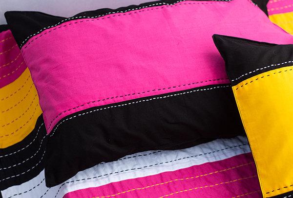 Kantha patchwork bedcover