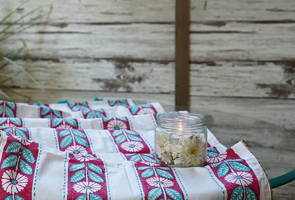 Hand Embroidered Table Linen