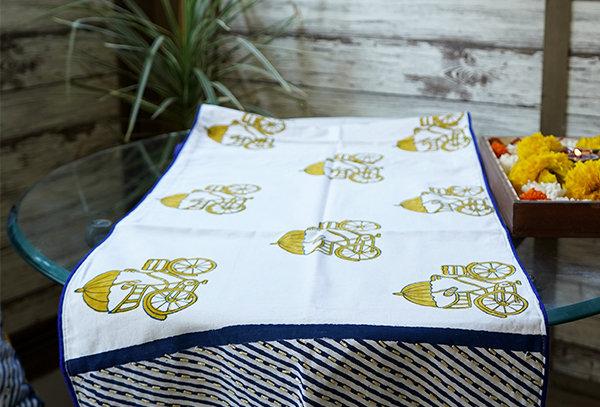 Rickshaw Print Table Linen