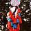 Thumbnail: Floral pattern dream catcher