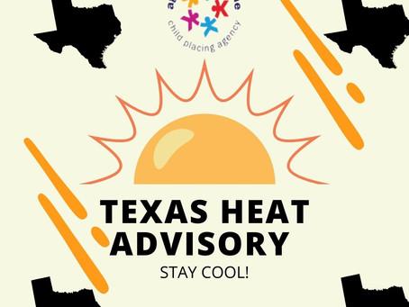   Texas Heat Advisory   