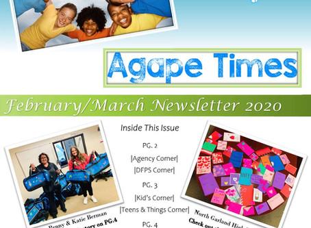 February/ March Newsletter