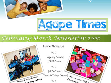 February/ March Newsletter