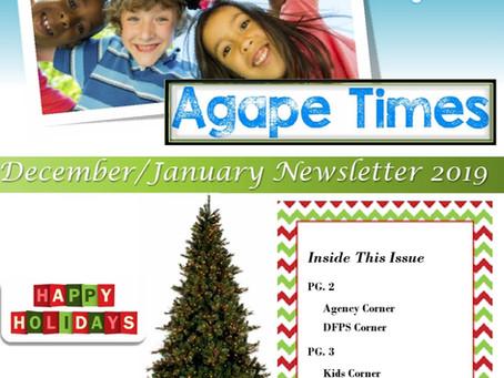 December/January Newsletter