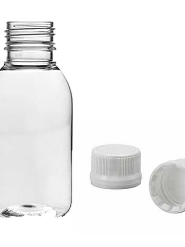 Frascos plásticos