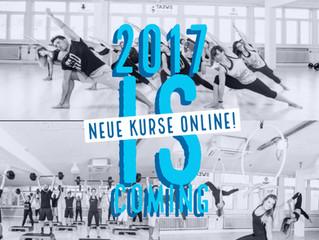 MIT VOLLER KRAFT INS NEUE JAHR! Die neuen Kurse sind online