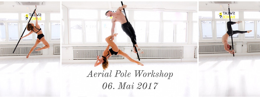 Aerial Pole Workshop bei SweatnDance in Köln