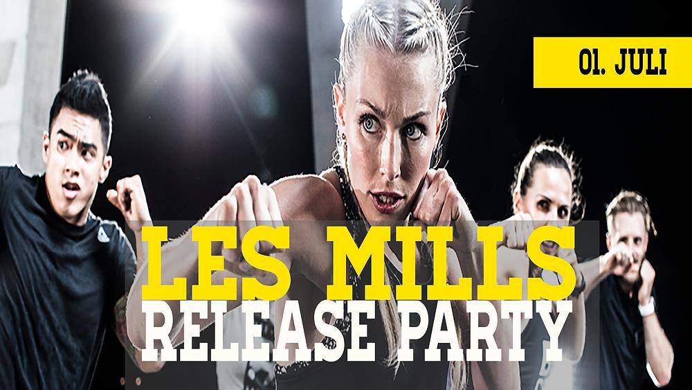 Les Mills Release Party Köln