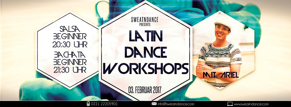 Latin Salsa Bachata Workshop Köln bei SweatnDance