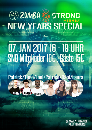 ZUMBA NEW YEARS SPECIAL AM 07.01.2016