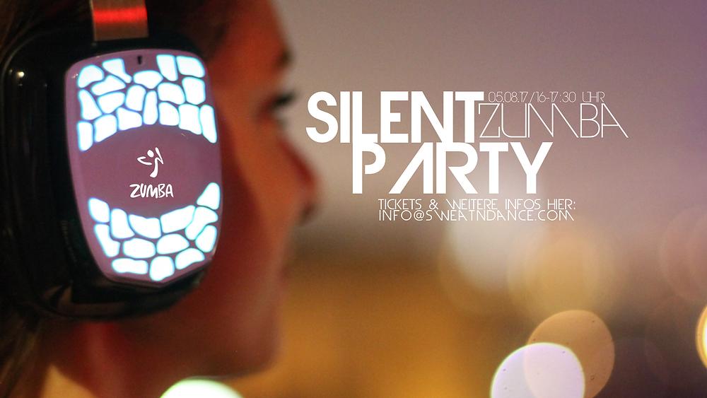 Silent Zumba Party Köln bei SweatnDance