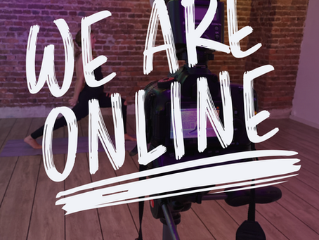 WE ARE ONLINE!